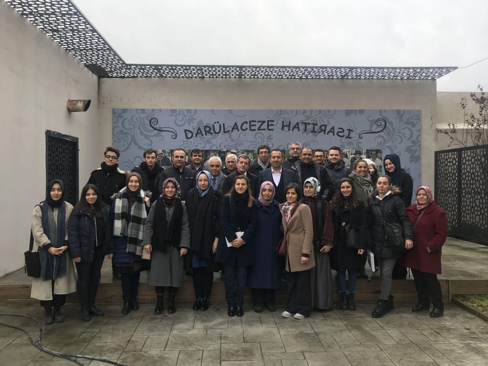 Eğitim-Bir Sen İstanbul 8. Şube Yönetimi ve Üyeleri, Darülaceze Ziyareti Gerçekleştirdi