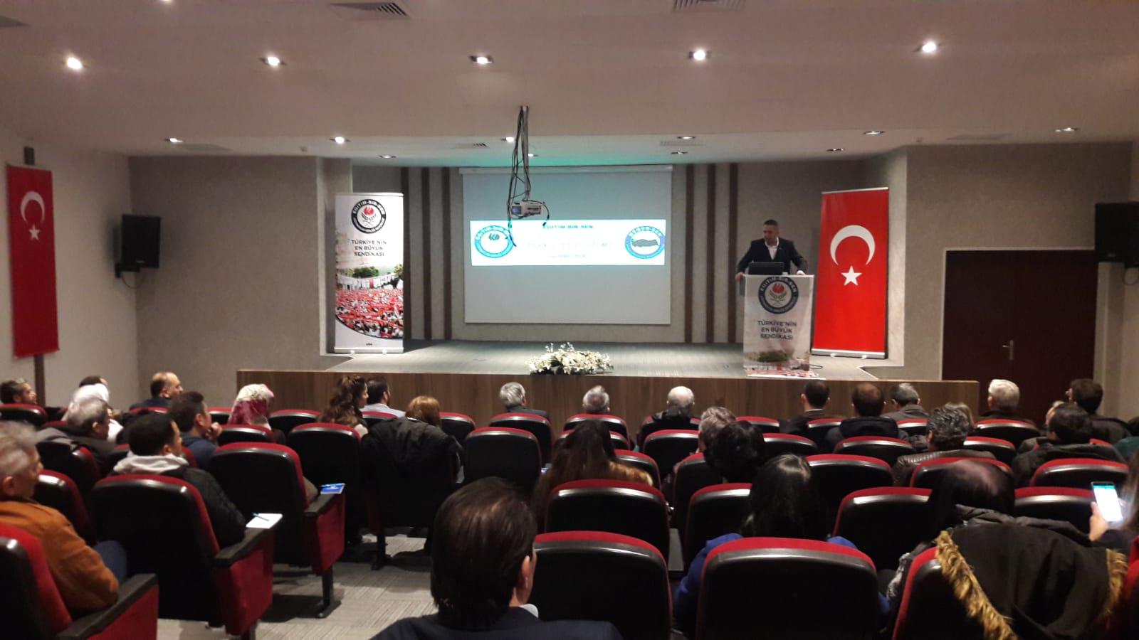 Eğitim-Bir-Sen İstanbul 7-8-9 nolu Şubelerinin Teşkilat Eğitimleri